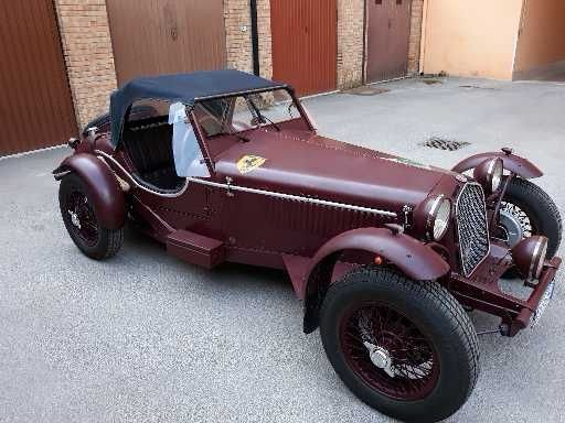 1984 Alfa Romeo 8c inspired on a Marlin roadster base For Sale (picture 2 of 6)
