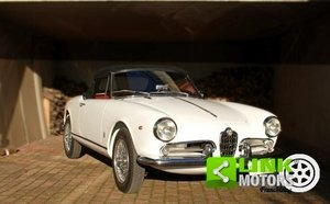 ALFA ROMEO GIULIETTA SPIDER 2 SERIE, ANNO 1961, ISCRITTA AS For Sale