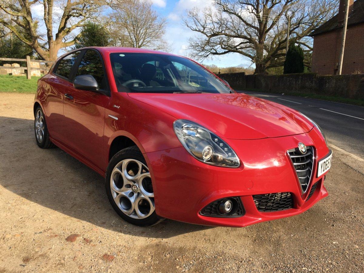 2015 Alfa Romeo Giulietta 1.4 TB Multiair Sprint (150) For Sale (picture 1 of 6)
