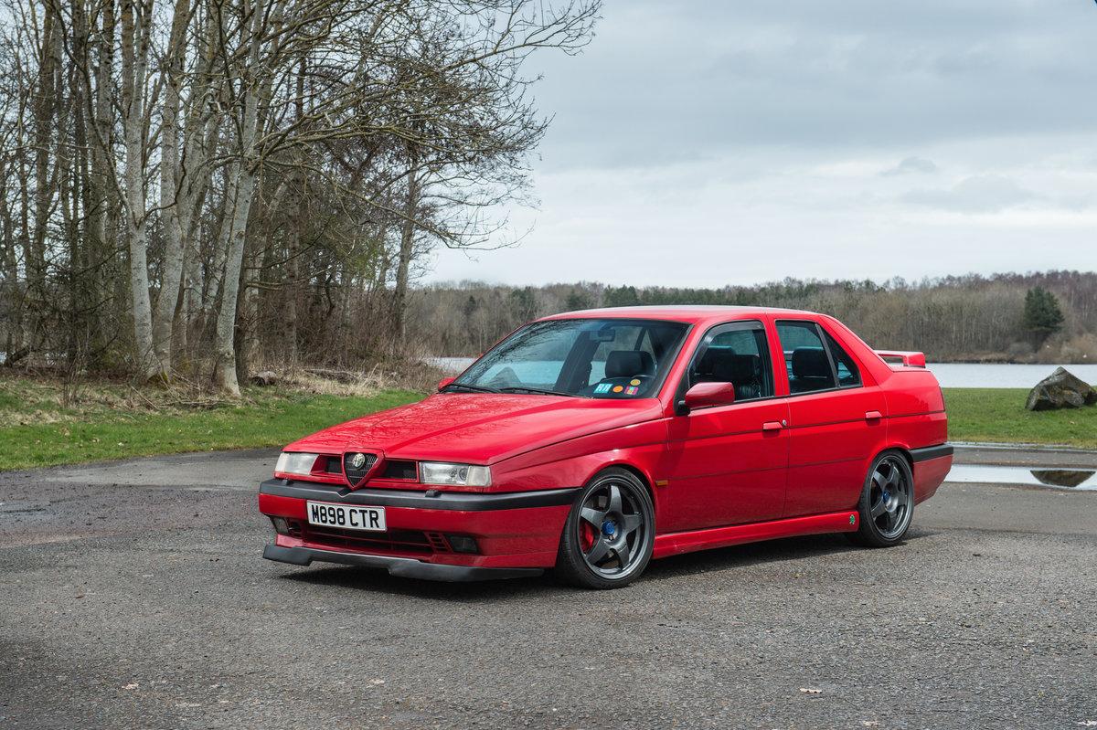 1994 Alfa Romeo 155 Q4, Cloverleaf 4/Integrale -Pending SOLD (picture 1 of 6)