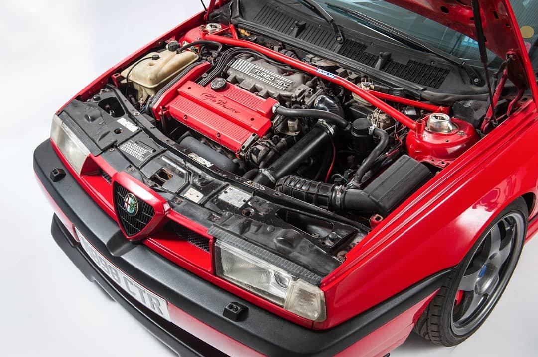 1994 Alfa Romeo 155 Q4, Cloverleaf 4/Integrale -Pending SOLD (picture 3 of 6)