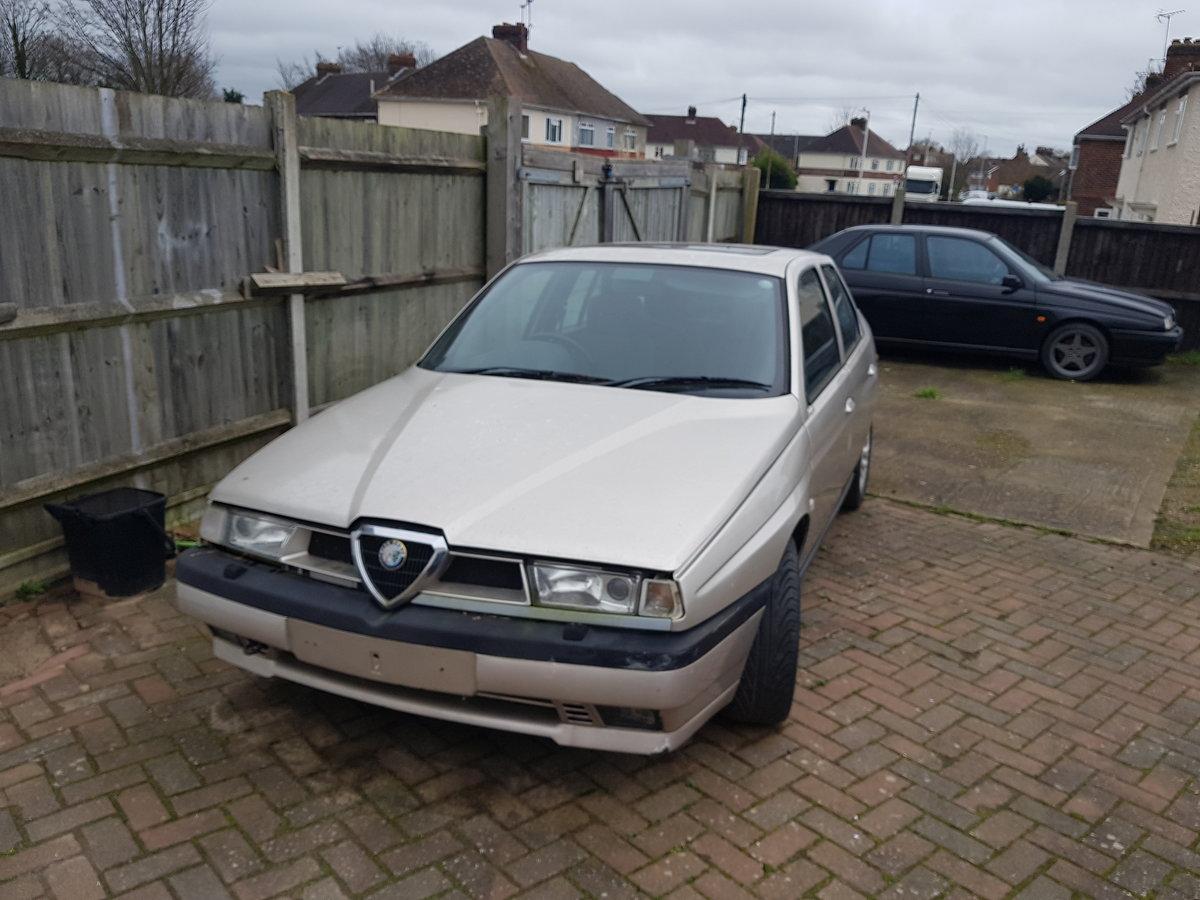 1995 Alfa Romeo 155 2.5 v6 For Sale (picture 1 of 4)