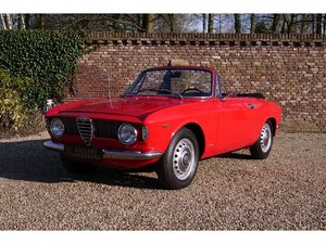 1966 Alfa Romeo Giulia Sprint GTC only 998 made! Touring body