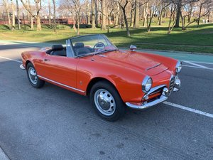 # 23283 1965 Alfa Romeo Giulia 1600 Spider For Sale