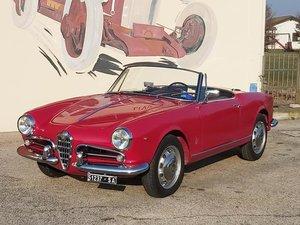 1961 Alfa Romeo Giulietta Spider 1300