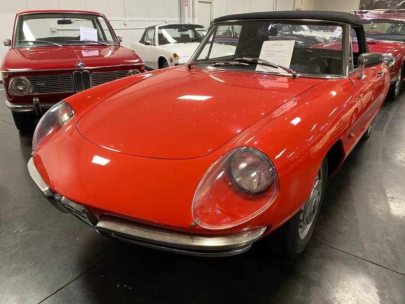 1967 Alfa Romeo Duetto Convertible Spider Red driver $obo For Sale (picture 1 of 3)