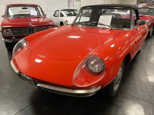 1967 Alfa Romeo Duetto Convertible Spider Red driver $obo