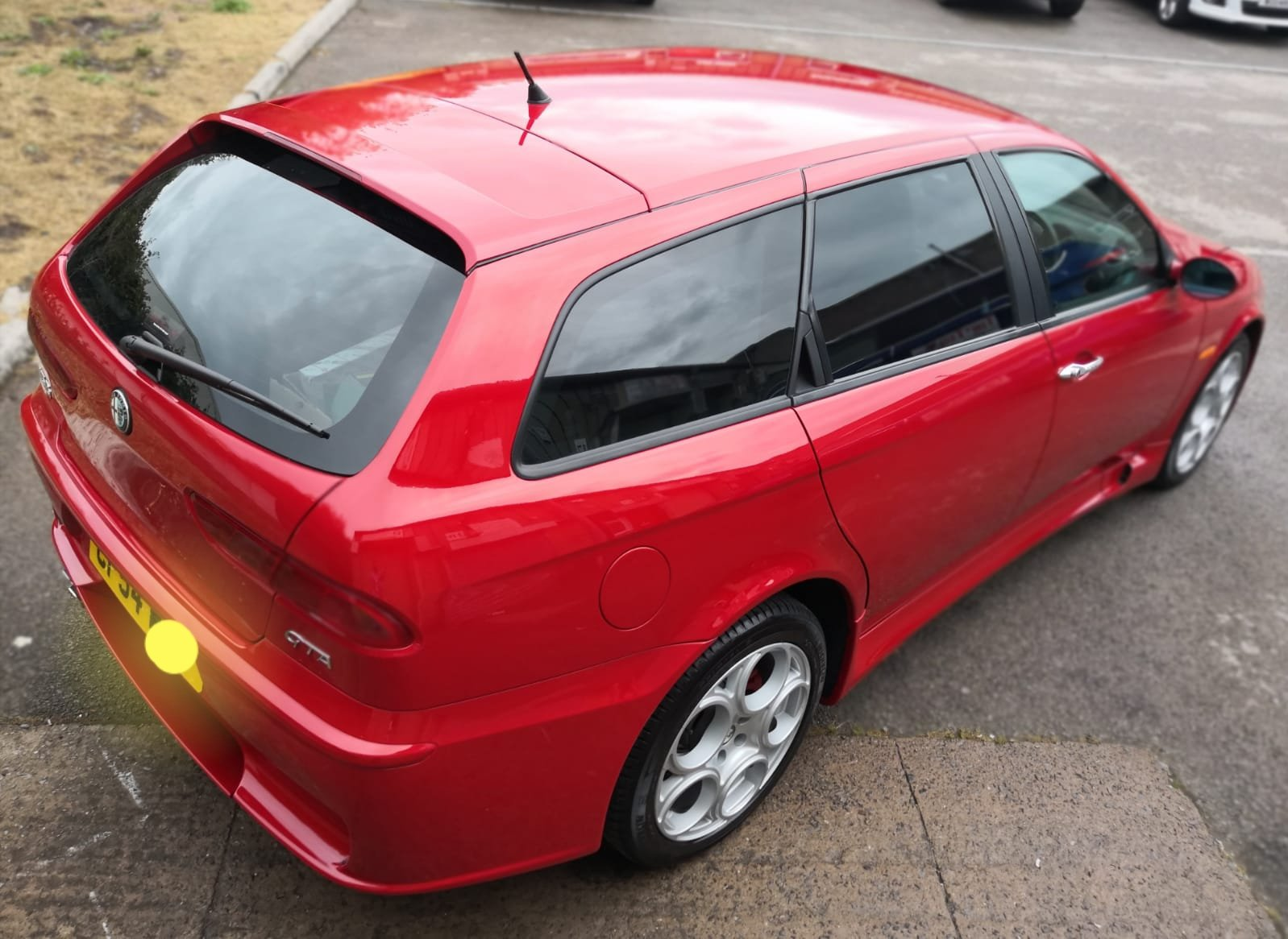 2005 Alfa Romeo 156 GTA Japanese import rust free SOLD (picture 2 of 6)