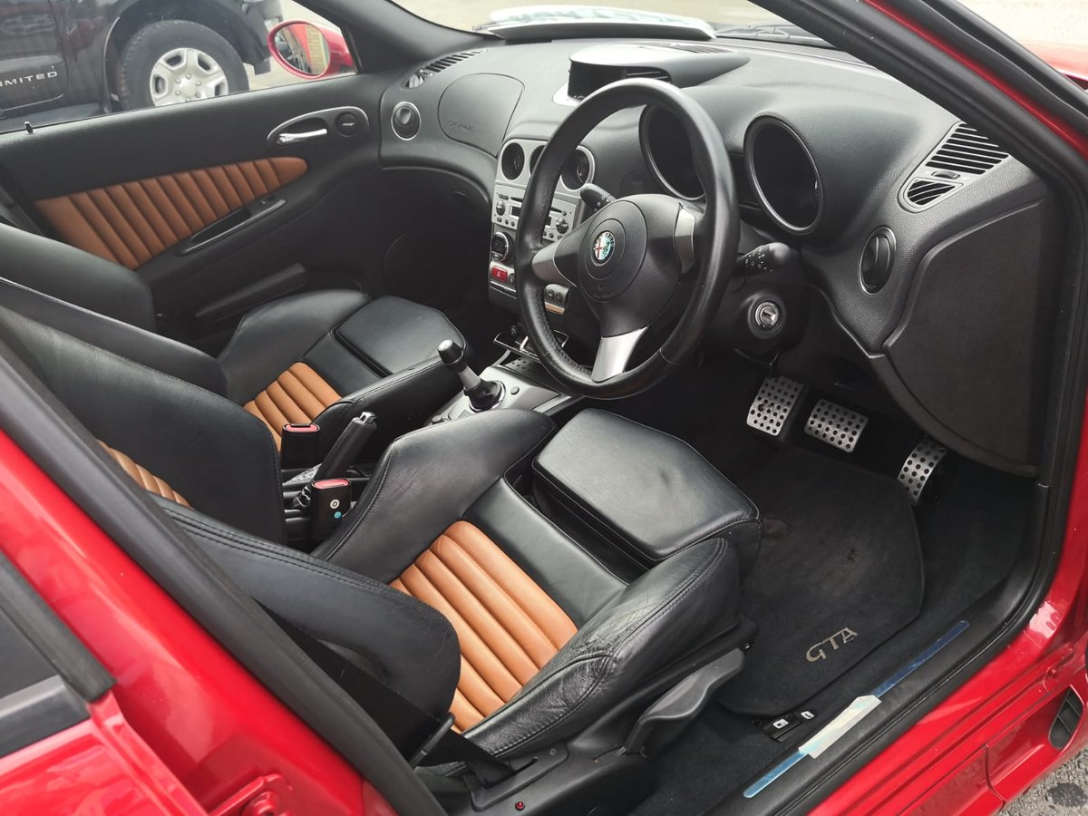 2005 Alfa Romeo 156 GTA Japanese import rust free SOLD (picture 5 of 6)
