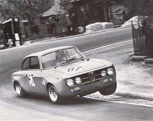 1970 ALFA ROMEO 1750 GTV GTAm EVOCATION PROJECT ROAD RACE CAR