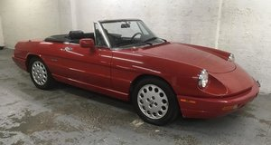 1992 Alfa Romeo S4 Spider rare auto LHD fab low kms