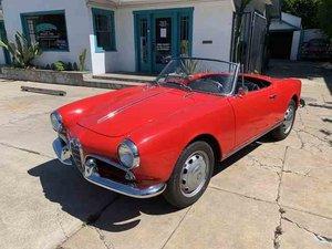 1961 Alfa Romeo Giulietta Spider Red(~)Black driver $44.9k