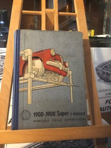 Picture of 1957 Alfa 1900 Repair manual