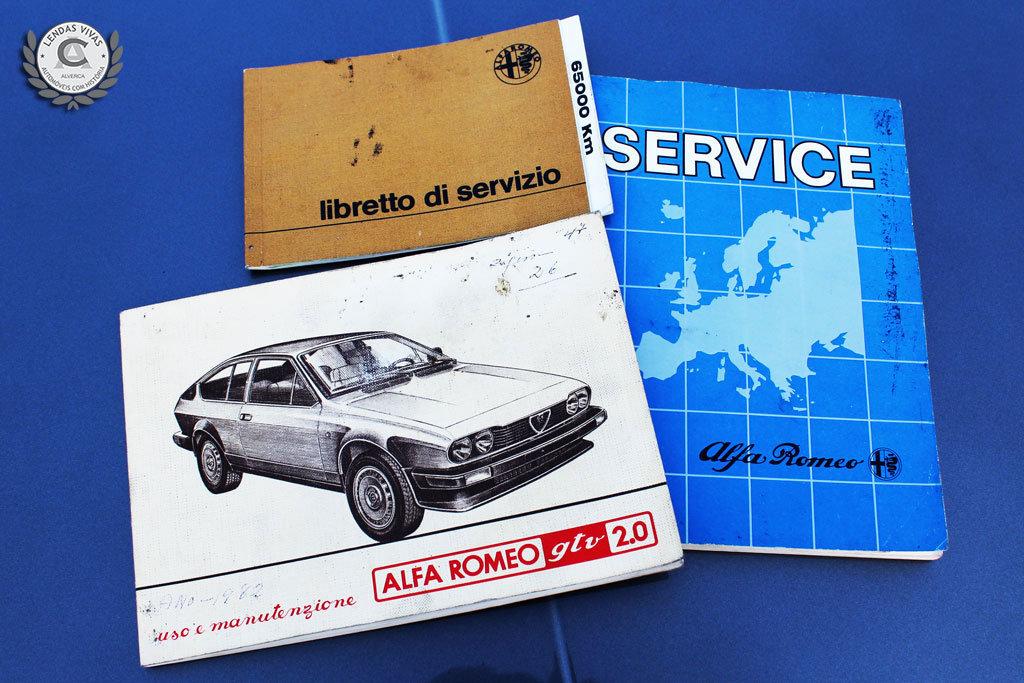 Alfa Romeo GTV 2.0 1982 For Sale (picture 6 of 6)