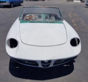 1968 Alfaromeo spider Duetto 1750