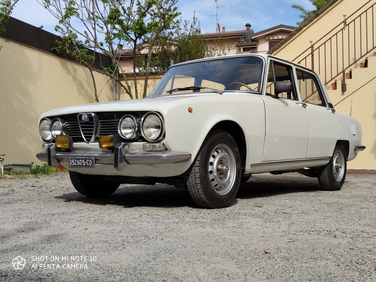 1971 alfa romeo 1750 2nd series For Sale (picture 1 of 5)