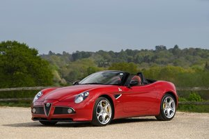 2010 Alfa Romeo 8C Spider - 3000 miles from new, two owners