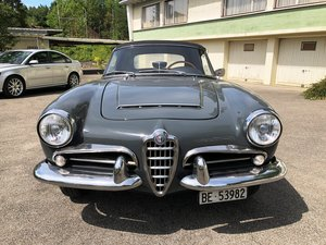 1962 Alfa Romeo Giulia 1600 Spider (price reduced)