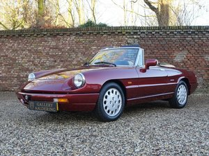 1992 Alfa Romeo Spider 2.0 U9 3rd owner, only 130.147 kms!