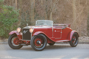1928 ALFA ROMEO 6C 1500, iconic model