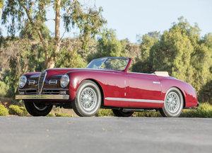 1951 ALFA ROMEO 6C 2500 SUPER SPORT CABRIOLET