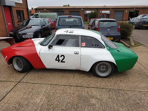 ALFA ROMEO GTAm SPECIFICATION HISTORIC RACE CAR WITH HISTORY