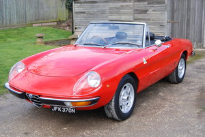 1975 Alfa Romeo Spider S2 Kammtail, VGC, History, Low owners SOLD