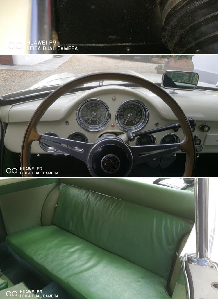 1954 Alfa Romeo 1900 CSS Coupe Restored For Sale (picture 5 of 6)