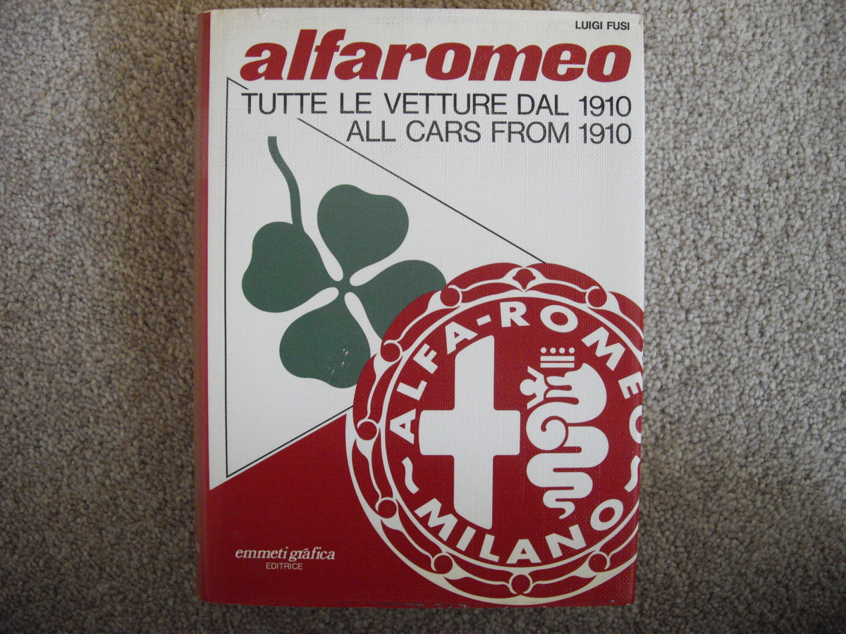 Alfa Romeo,all cars from 1910 ,Luigi Fusi For Sale (picture 1 of 6)
