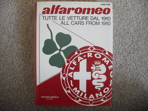 Alfa Romeo,all cars from 1910 ,Luigi Fusi