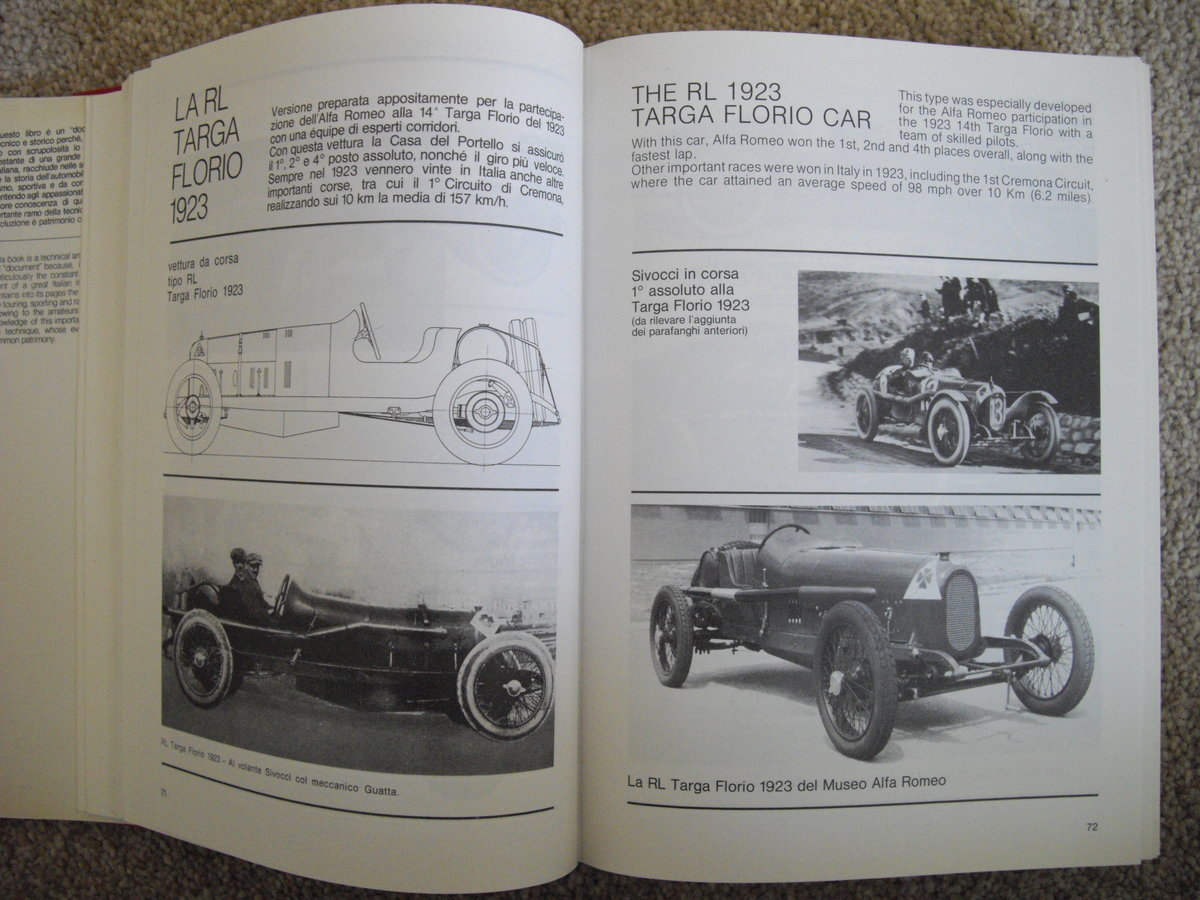 Alfa Romeo,all cars from 1910 ,Luigi Fusi For Sale (picture 5 of 6)