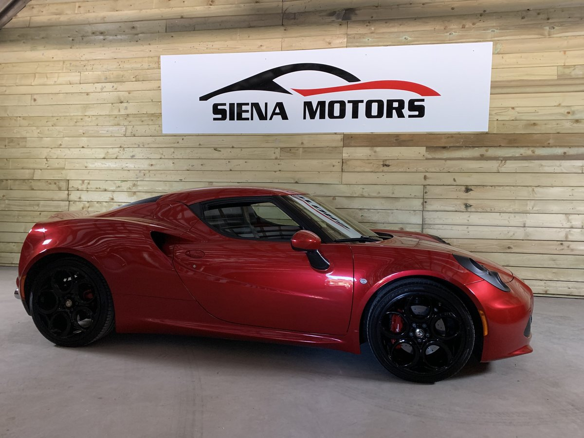 2014 Alfa Romeo 4C Coupe 1 Previous Owner For Sale (picture 1 of 6)