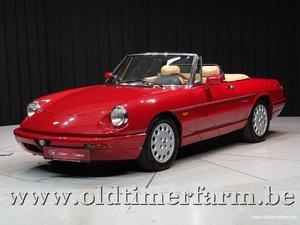 1991 Alfa Romeo Spider 4 2.0 Red '91