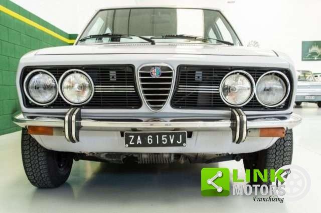 1974 Alfa Romeo Alfetta 1.8 Scudo Stretto Prima Serie RESTAURATA For Sale (picture 2 of 6)
