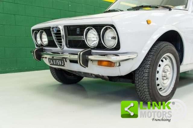 1974 Alfa Romeo Alfetta 1.8 Scudo Stretto Prima Serie RESTAURATA For Sale (picture 3 of 6)