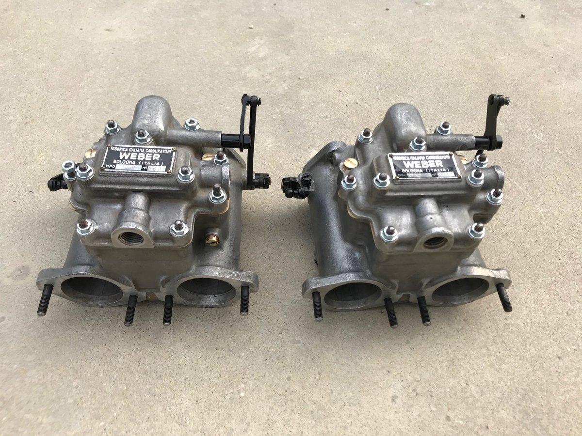 Carburetors weber 40DCO3 For Sale (picture 1 of 6)