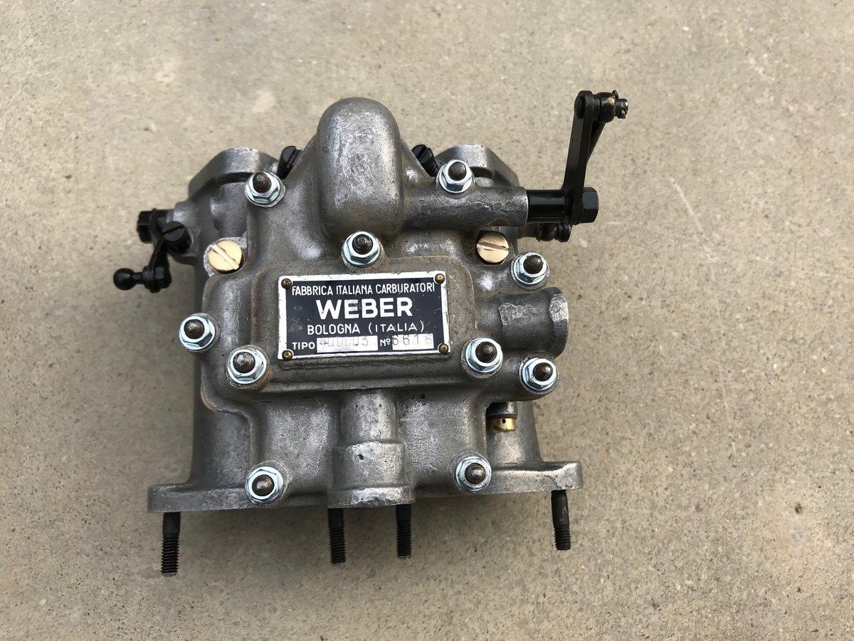 Carburetors weber 40DCO3 For Sale (picture 5 of 6)