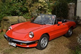1985 Alfa Romeo Spider 3 LHD 30/5/20 SOLD by Auction