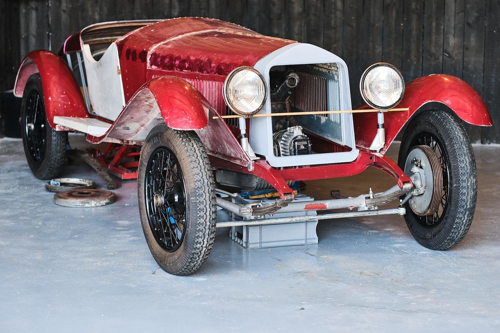 1929 Alfa Romeo 1750 6C Project For Sale (picture 1 of 6)