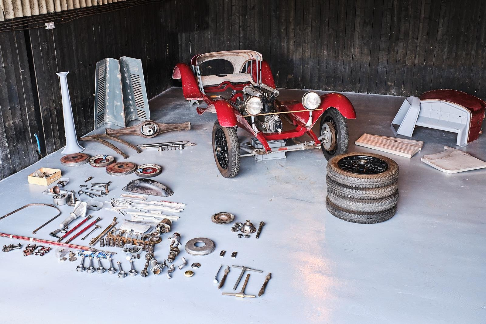 1929 Alfa Romeo 1750 6C Project For Sale (picture 6 of 6)