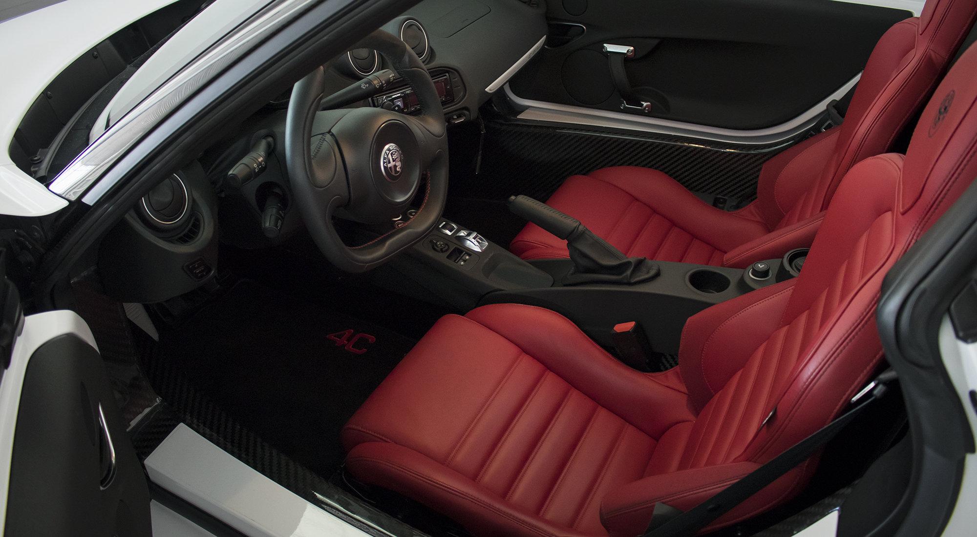 Alfa Romeo 4C Spider (2017) For Sale (picture 5 of 6)
