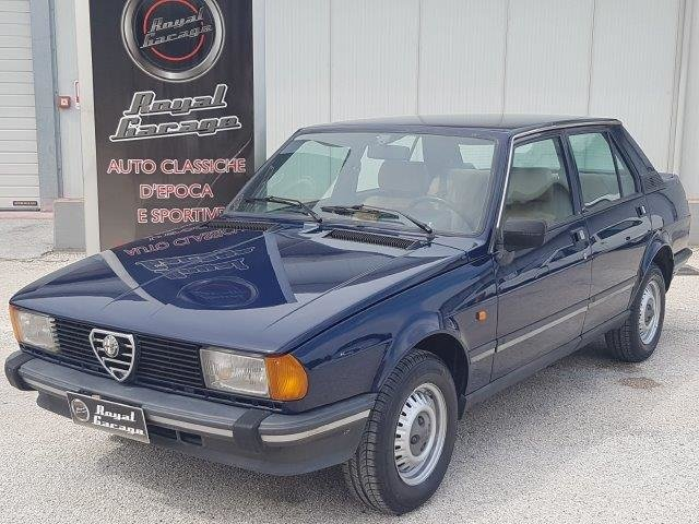 1982 ALFA ROMEO GIULIETTA 1.6 L 2° -SERVICE BOOK- For Sale (picture 1 of 6)