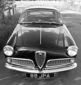 Alfa Romeo Giulietta Sprint, Matching Numbers, UK car. 1959 For Sale