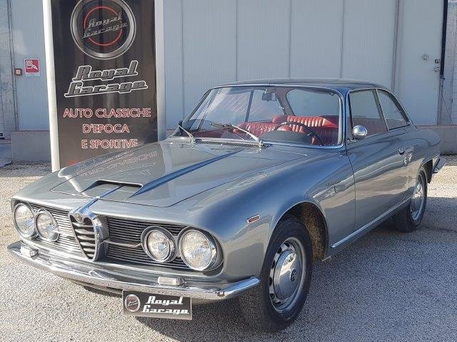 1962 ALFA ROMEO 2600 SPRINT COUPE' BERTONE -ASI TARGA ORO- For Sale (picture 1 of 6)