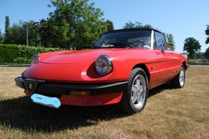 1985 Alfa Romeo spider 3  LHD