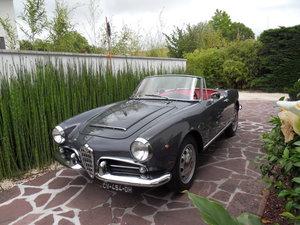 1962 Alfa Romeo GIULIA SPIDER RARE IN THIS CONDITION