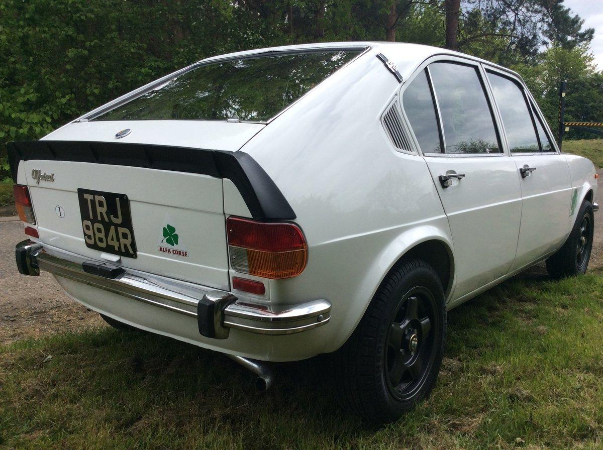 1977 Alfa Romeo Alfasud series 1, 1350 TI engine For Sale (picture 2 of 4)