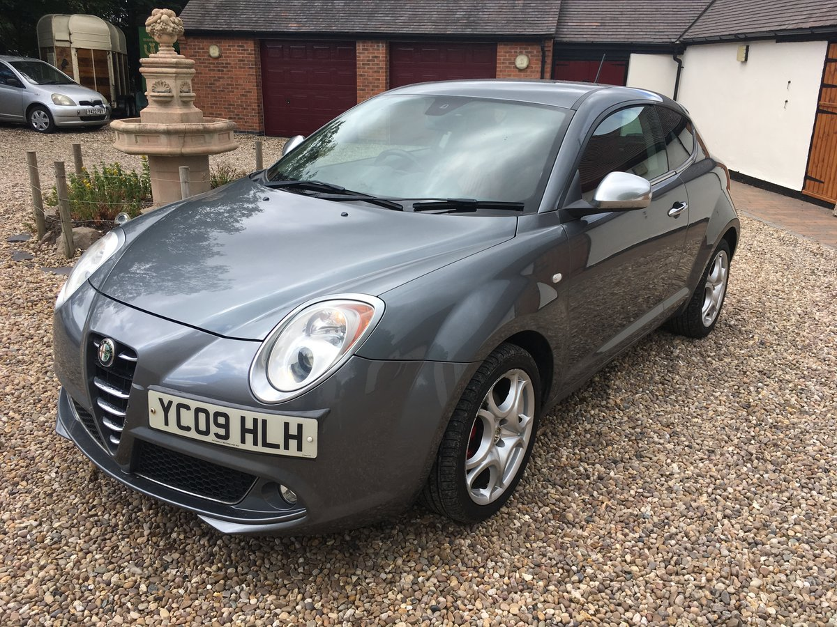 2009 Alfa Romeo Mito Veloce For Sale (picture 1 of 6)