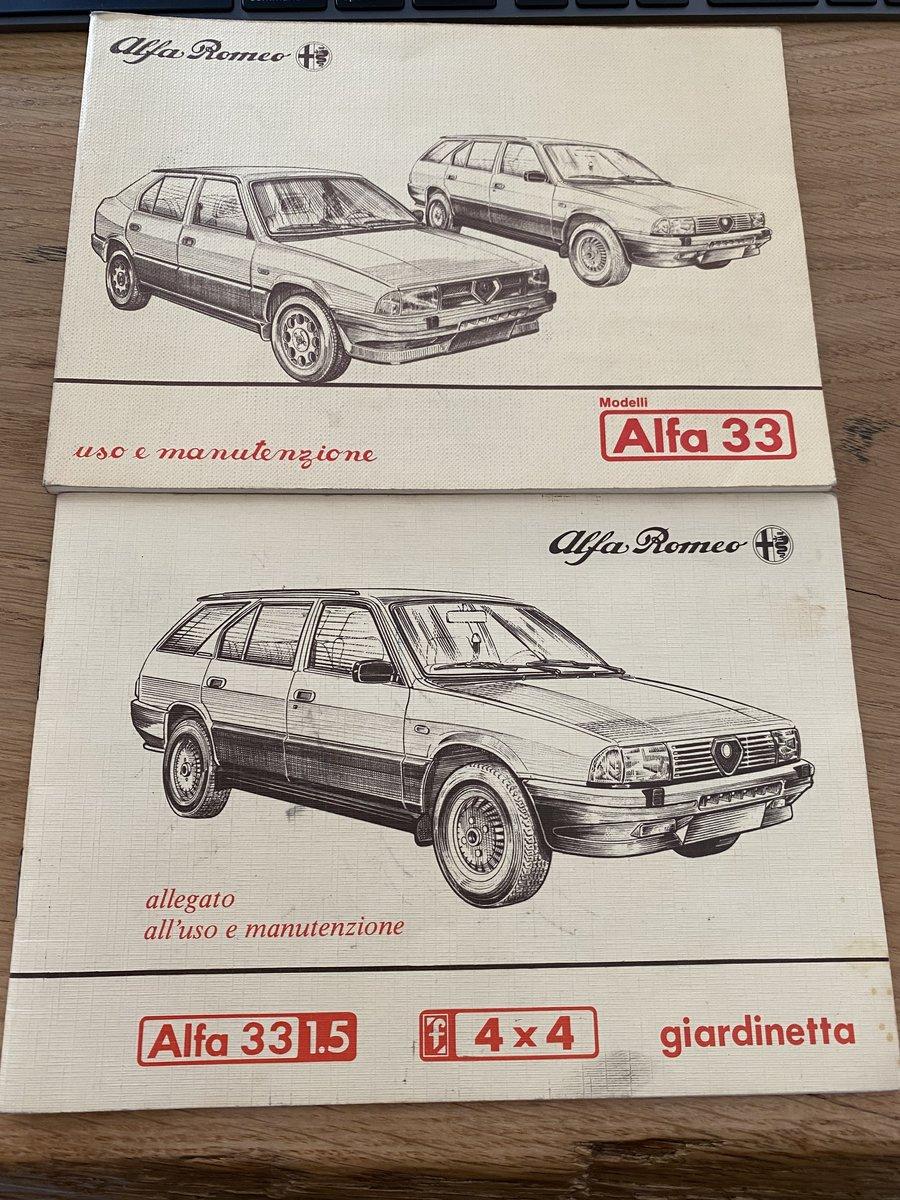 1986 Alfa Romeo 33 1500 4x4 Giardinetta prima serie SOLD (picture 6 of 6)