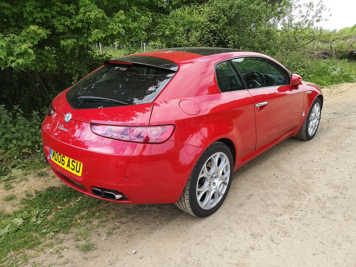2006 Alfa Romeo Brera 3.2 V6 Q4 SV FSH For Sale (picture 2 of 6)
